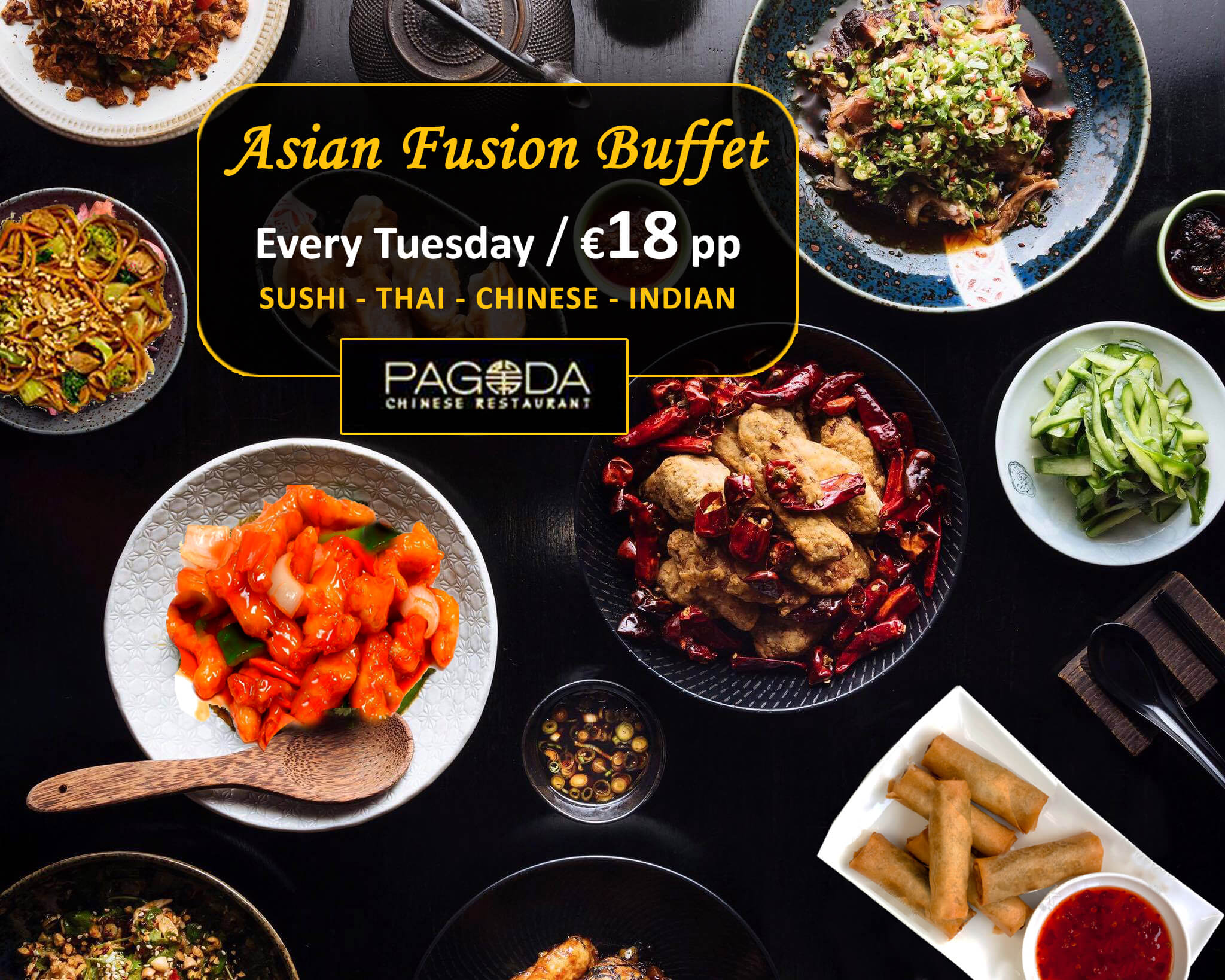 ASIAN TUESDAYS AT PAGODA