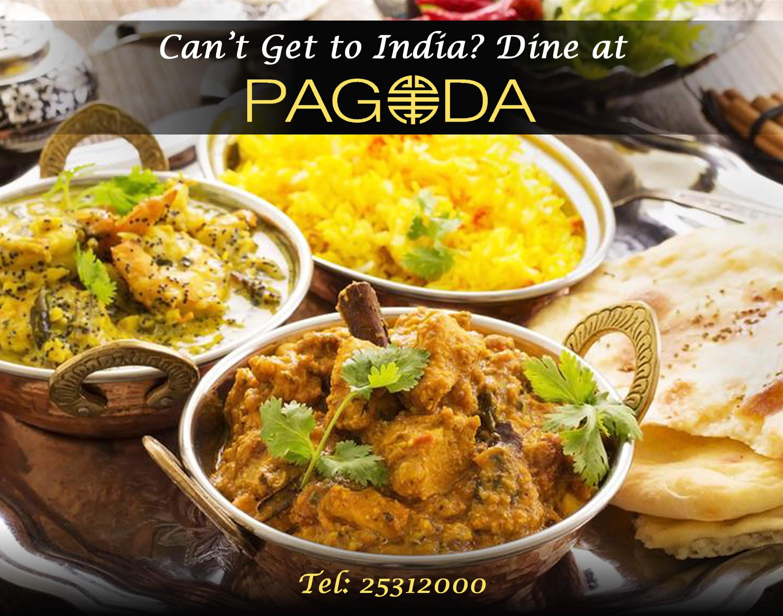 INDIAN CUISINE @ PAGODA